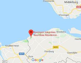 Strand Karte Zeeland.Noordzee Residence Cadzand Bad Ferienpark Cadzand Bad